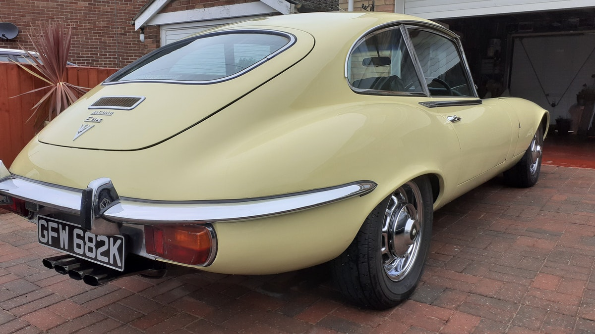 1972 Jaguar E type s3 v12 manual For Sale (picture 5 of 12)