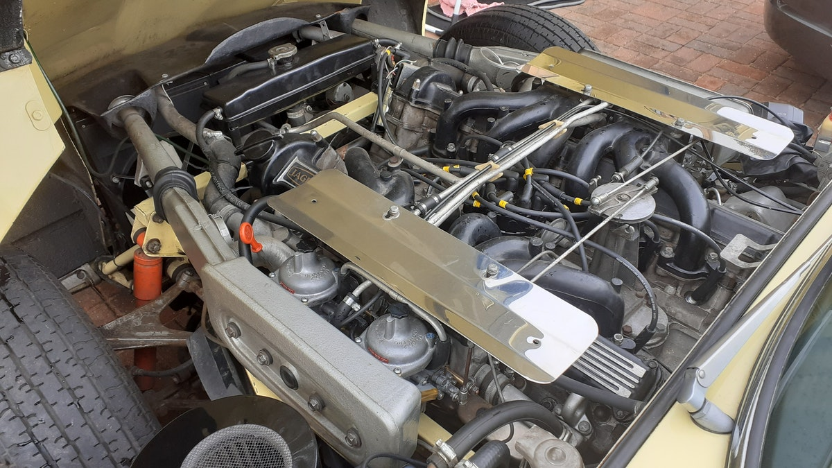 1972 Jaguar E type s3 v12 manual For Sale (picture 7 of 12)