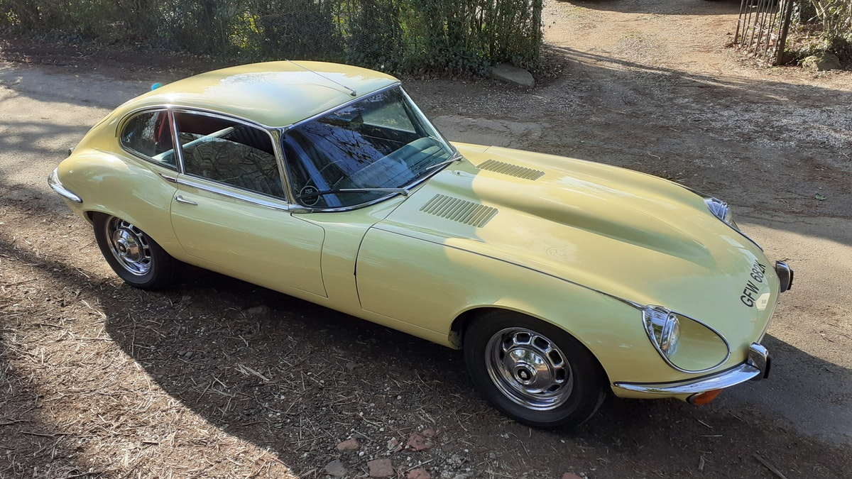 1972 Jaguar E type s3 v12 manual For Sale (picture 11 of 12)
