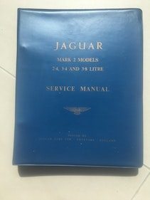 Picture of Jaguar MK2 Drivers Service Manual For Sale