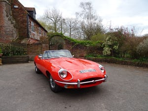 1968 Stunning E-Type Jaguar roadster For Sale (picture 1 of 9)