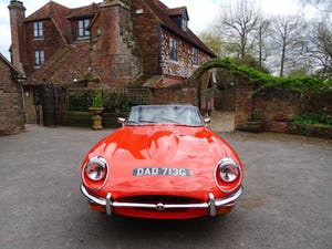 1968 Stunning E-Type Jaguar roadster For Sale (picture 3 of 9)