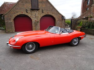 1968 Stunning E-Type Jaguar roadster For Sale (picture 5 of 9)
