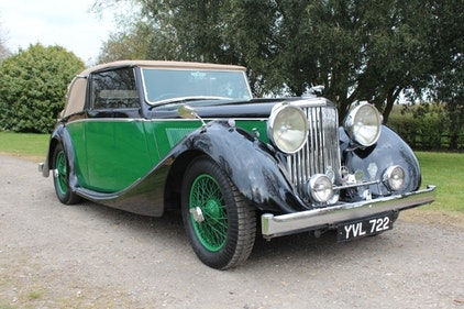 Picture of 1948 MK IV 3.5 Drop Head Coupe. For Sale