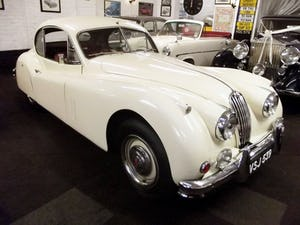 1956 JAGUAR XK140 SE FIXED HEAD COUPE (manual with overdrive) For Sale (picture 1 of 12)
