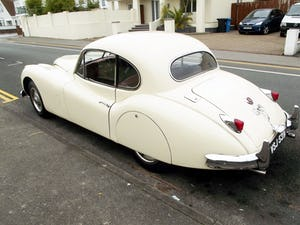 1956 JAGUAR XK140 SE FIXED HEAD COUPE (manual with overdrive) For Sale (picture 3 of 12)