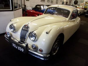 1956 JAGUAR XK140 SE FIXED HEAD COUPE (manual with overdrive) For Sale (picture 5 of 12)