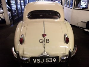 1956 JAGUAR XK140 SE FIXED HEAD COUPE (manual with overdrive) For Sale (picture 6 of 12)
