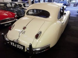 1956 JAGUAR XK140 SE FIXED HEAD COUPE (manual with overdrive) For Sale (picture 7 of 12)