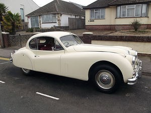 1956 JAGUAR XK140 SE FIXED HEAD COUPE (manual with overdrive) For Sale (picture 12 of 12)