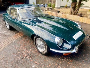 £56,000 : 1973 JAGUAR E-TYPE V12 For Sale (picture 3 of 11)