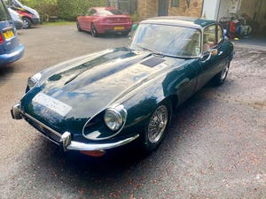 £56,000 : 1973 JAGUAR E-TYPE V12 For Sale (picture 4 of 11)
