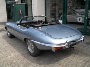 1969 Jaguar E Type Roadster owned by inventor Trevor Baylis For Sale (picture 3 of 7)