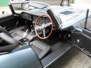 1969 Jaguar E Type Roadster owned by inventor Trevor Baylis For Sale (picture 5 of 7)