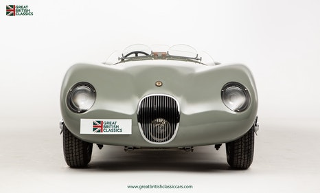 Picture of 1956 JAGUAR C-TYPE // ALUMINIUM BODIED RECREATION // FIA PASSPORT For Sale