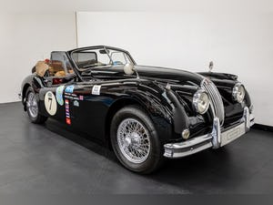 JAGUAR XK140 DROPHEAD COUPE 1955- RALLY PREPARED For Sale (picture 1 of 34)