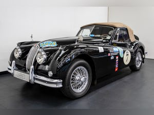JAGUAR XK140 DROPHEAD COUPE 1955- RALLY PREPARED For Sale (picture 2 of 34)