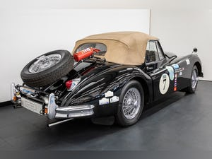 JAGUAR XK140 DROPHEAD COUPE 1955- RALLY PREPARED For Sale (picture 3 of 34)