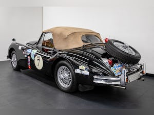 JAGUAR XK140 DROPHEAD COUPE 1955- RALLY PREPARED For Sale (picture 4 of 34)