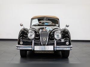 JAGUAR XK140 DROPHEAD COUPE 1955- RALLY PREPARED For Sale (picture 5 of 34)