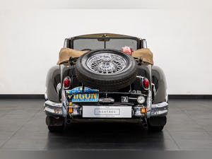 JAGUAR XK140 DROPHEAD COUPE 1955- RALLY PREPARED For Sale (picture 6 of 34)