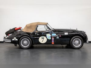 JAGUAR XK140 DROPHEAD COUPE 1955- RALLY PREPARED For Sale (picture 11 of 34)