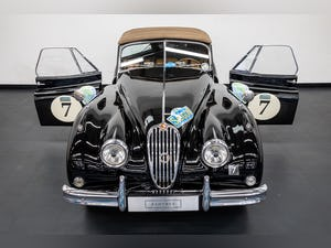 JAGUAR XK140 DROPHEAD COUPE 1955- RALLY PREPARED For Sale (picture 13 of 34)
