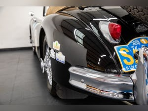 JAGUAR XK140 DROPHEAD COUPE 1955- RALLY PREPARED For Sale (picture 15 of 34)