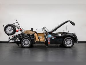 JAGUAR XK140 DROPHEAD COUPE 1955- RALLY PREPARED For Sale (picture 17 of 34)