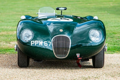 Picture of 1951 Jaguar C-type TOOL ROOM FIA race car For Sale