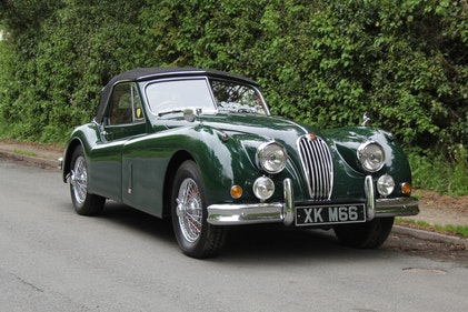 Picture of 1955 Jaguar XK140 DHC - Matching No's,25k miles touring in Europe For Sale