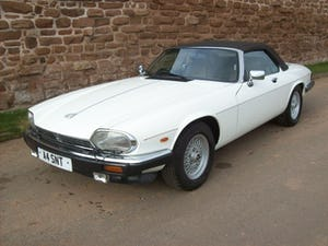 1988 Xjs v12 convertible For Sale (picture 1 of 8)