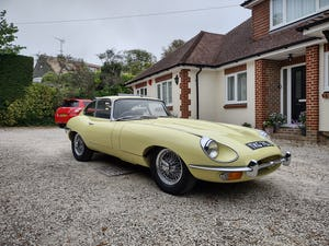 1970 Jaguar E type MK2 coupe For Sale (picture 2 of 10)