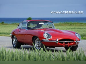 1964 Jaguar E-type Series 1 with 20300 miles from new For Sale (picture 1 of 32)