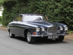 1968 Jaguar 420G - Exceptional example in Solent Blue For Sale (picture 1 of 17)
