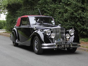 1951 Low mileage, first class Jaguar MKV 3.5 DHC For Sale (picture 1 of 21)