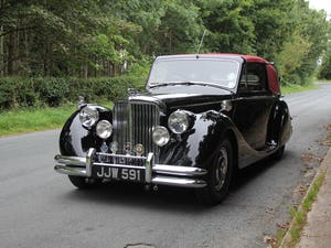 1951 Low mileage, first class Jaguar MKV 3.5 DHC For Sale (picture 3 of 21)