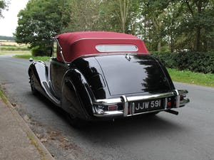 1951 Low mileage, first class Jaguar MKV 3.5 DHC For Sale (picture 4 of 21)