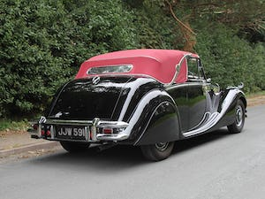 1951 Low mileage, first class Jaguar MKV 3.5 DHC For Sale (picture 6 of 21)