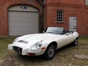 1974 Jaguar E-Type - series 3 roadster with powerful V12 For Sale (picture 1 of 10)
