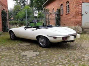 1974 Jaguar E-Type - series 3 roadster with powerful V12 For Sale (picture 4 of 10)