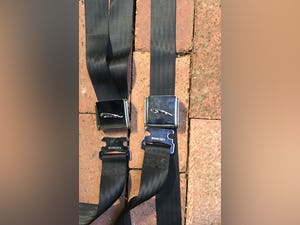 JAGUAR E TYPE  3.8 EARLY 1961  SEAT BELTS For Sale (picture 7 of 9)