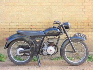 Picture of 1958 James L15 Cadet 150cc SOLD