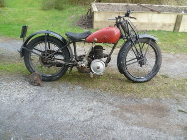 Picture of 1930 James 196cc Utility model for restoration For Sale