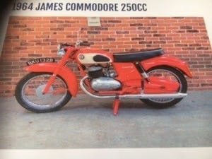 1964 James Commodore 250 -14/10/2021 For Sale by Auction (picture 1 of 1)