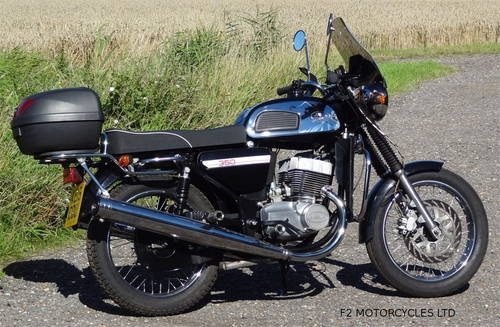 2015 Jawa 350 Retro, low mileage, electric start, ready to ride SOLD (picture 4 of 6)