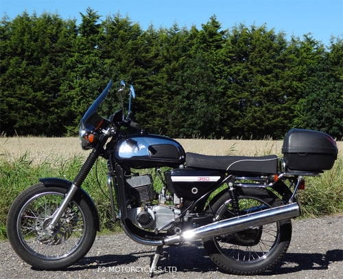 2015 Jawa 350 Retro, low mileage, electric start, ready to ride SOLD (picture 6 of 6)