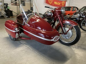 1958 Jawa 500 OHC with Velorex sidecar For Sale (picture 1 of 3)