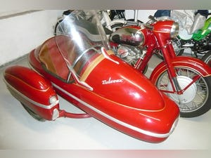 1958 Jawa 500 OHC with Velorex sidecar For Sale (picture 2 of 3)