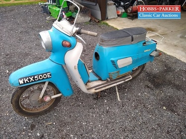 Picture of 1967 Jawa Manet Tatran S125 - 21,599 Miles - Sale 28/29th For Sale by Auction